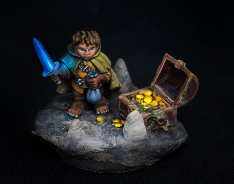 Reaper Miniatures 07004: Dungeon Dwellers: Stitch Thimbletoe, Halfling Thief