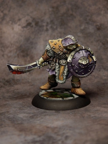 Reaper Miniatures 07007: Dungeon Dwellers: Orc Warrior of the Ragged Wound Tribe