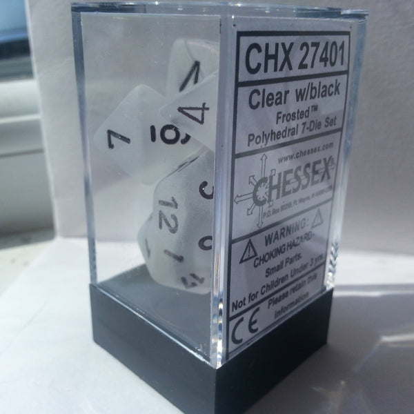 Chessex Frosted™ Dice Sets