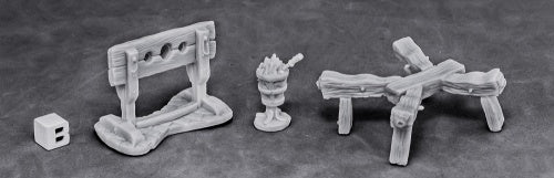 Reaper Miniatures 77442: Torture Equipment 1