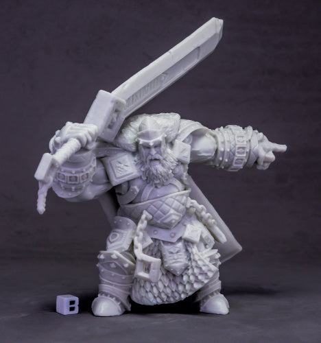77614: Skorg Ironskull, Fire Giant King (Huge)