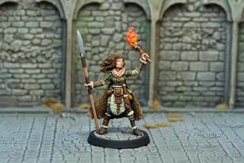 Otherworld Miniatures DAH19 - Human Female Barbarian