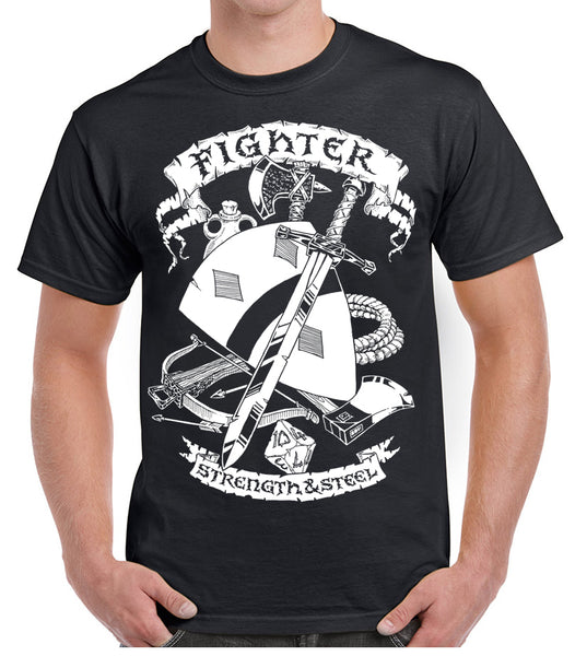 Fantasy RPG T-Shirt - Fighter
