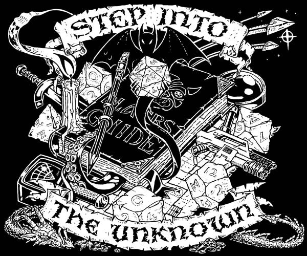 RPG T-shirt - 'Step into the Unknown'