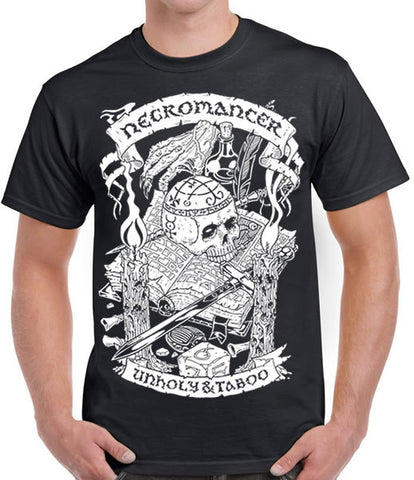 Fantasy RPG T-Shirt - Necromancer