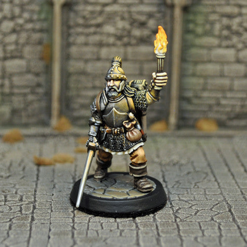 Otherworld Miniatures DAH1a - Human Male Fighter v1