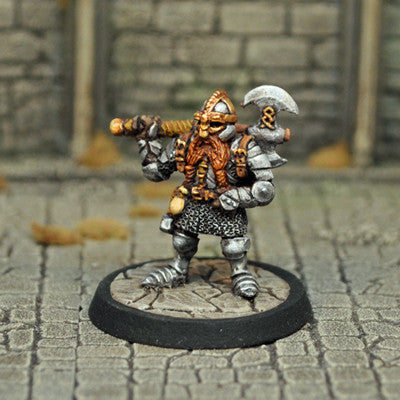 Otherworld Miniatures DAD1 - Male Dwarf Fighter