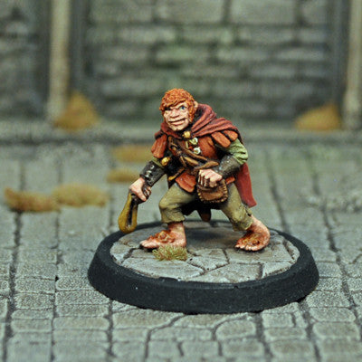 DAD12 - Male Halfling Thief