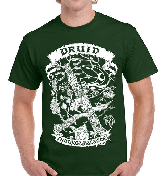 Fantasy RPG T-Shirt - Druid