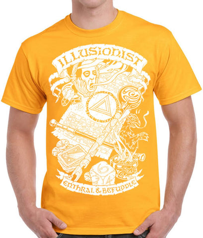 Fantasy RPG T-Shirt - Illusionist