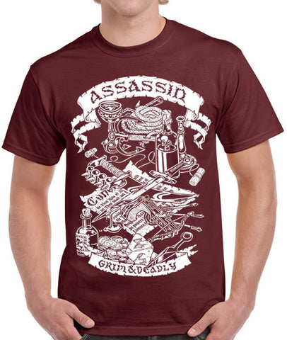 Fantasy RPG T-Shirt - Assassin
