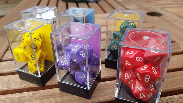 Chessex Opaque Dice Sets