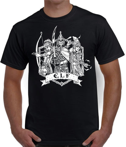 Fantasy RPG T-Shirt - Elf