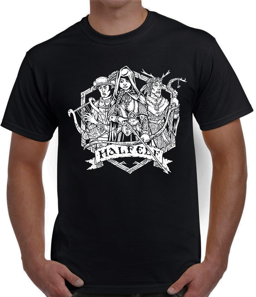 Fantasy RPG T-Shirt - Half-Elf