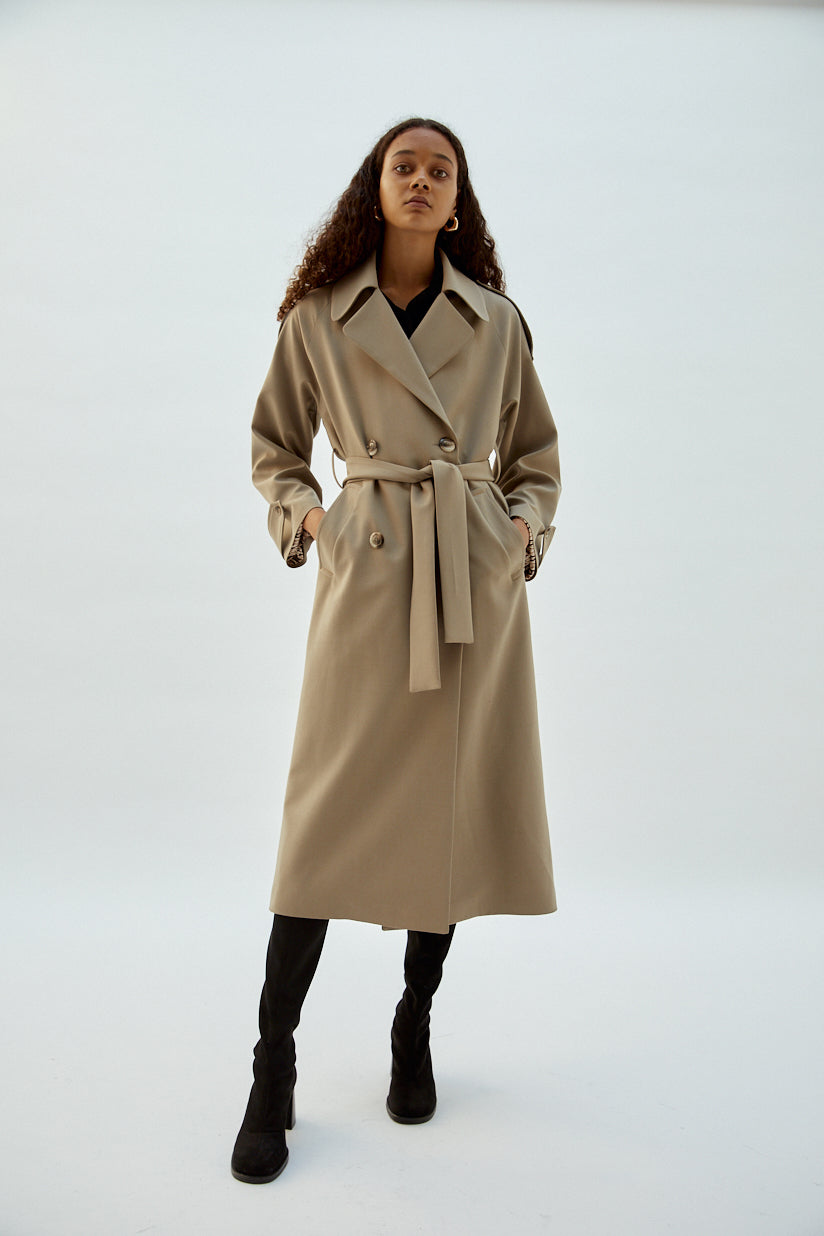 Musier Paris - trench rebecca