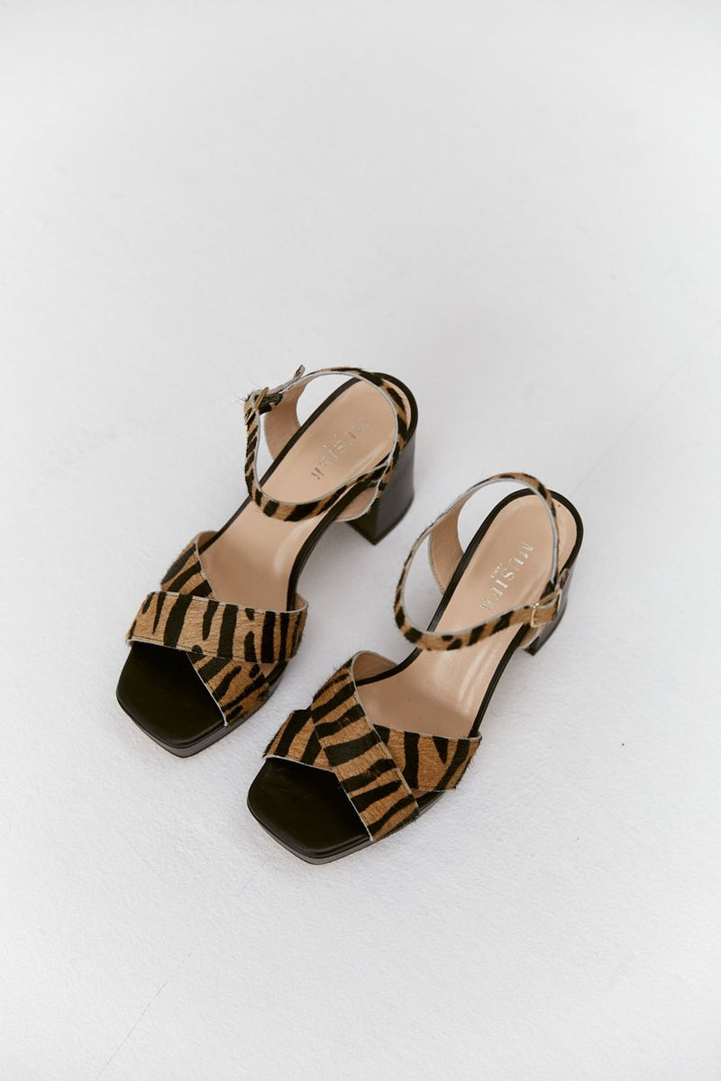 Musier Paris | sandales zebra