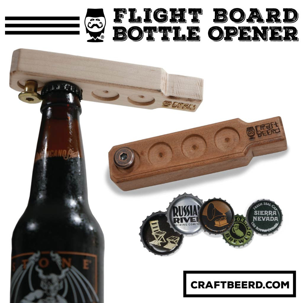 FLIGHT BOARD BOTTLE OPENERS