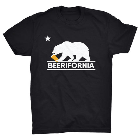 "MENS - ""BEERIFORNIA (BEAR)"" 