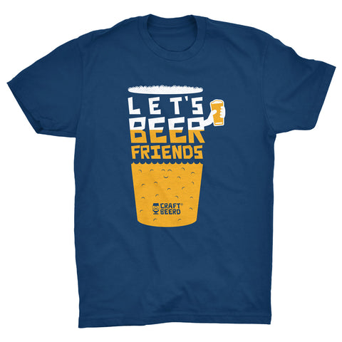 "MENS - ""LET'S BEER FRIENDS"" 