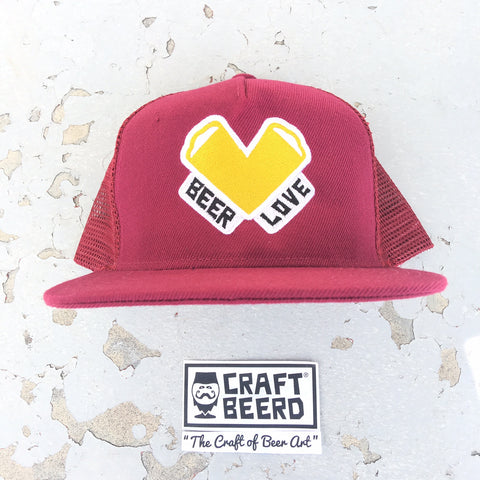 "HAT - ""BEER LOVE"""