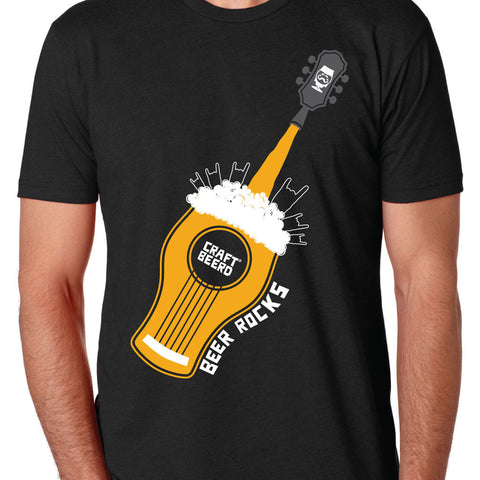 "MENS - ""BEER ROCKS"" 