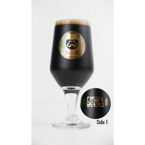 "GLASSWARE - ""GOLD LOGO"" - Craft Beer T-Shirts, Beer Art and Beer Gifts 