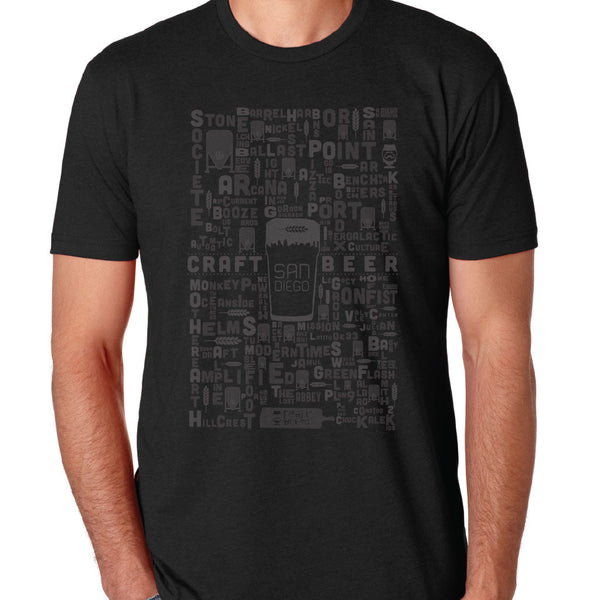 "MENS - ""2014 SAN DIEGO BEER MATRIX"" 