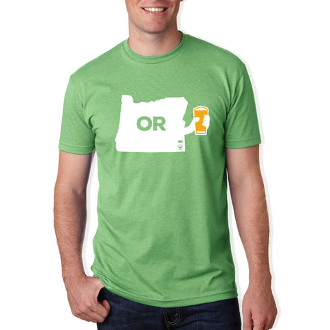 "MENS - ""CHEERS OREGON"" 