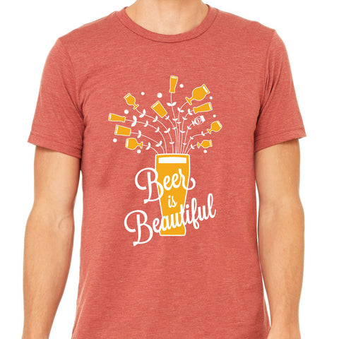 "MENS - ""BEER IS BEAUTIFUL"" 