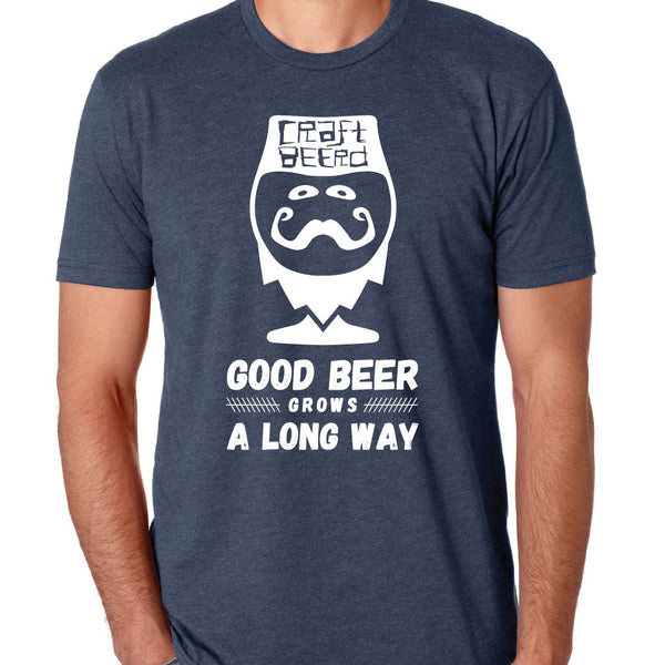 "MENS - ""GOOD BEER GROWS"" 