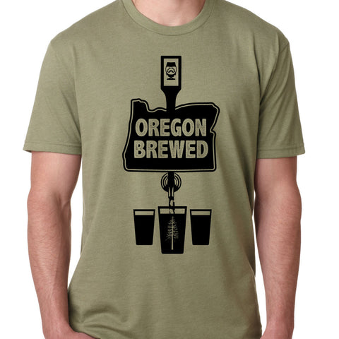 "MENS - ""OREGON BREWED"" 