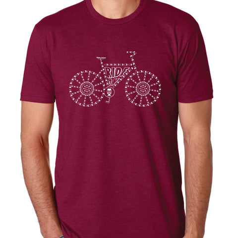 "MENS - ""BIKE RIDE ON"" 