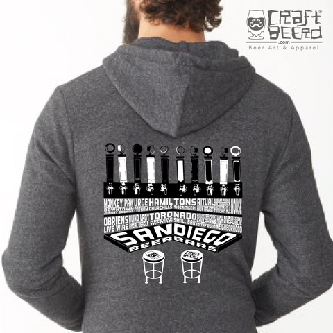 "HOODIE - ""BEER BARS"" 