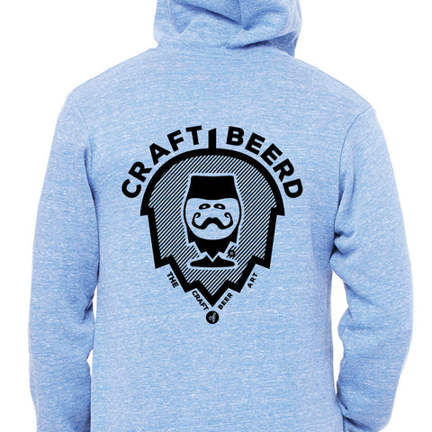 "HOODIE - ""THE CRAFT OF BEER ART"" 