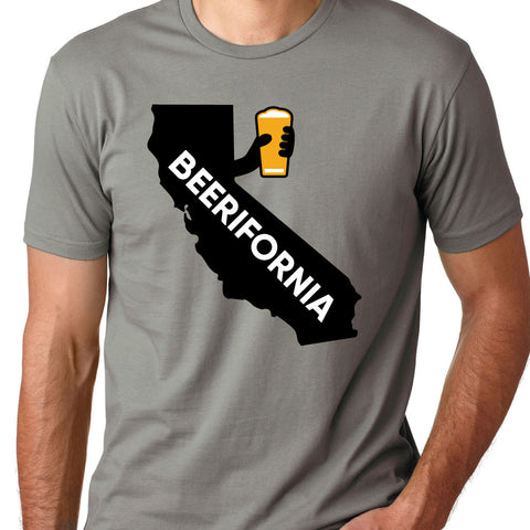 "MENS - ""BEERIFORNIA (STATE)"" 