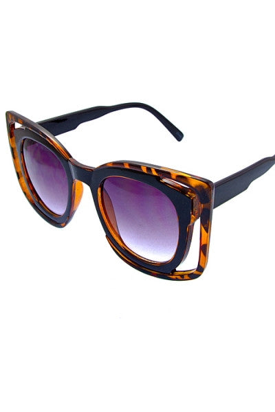 Blocked Out Shades (Cheetah)