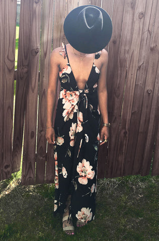 Floral Breeze 2 way Maxi Wrap Dress