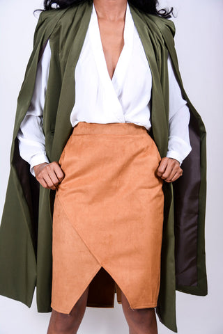 Fly Away Cape Trench Jacket (more colors)