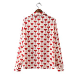 Heart In Heart Blouse