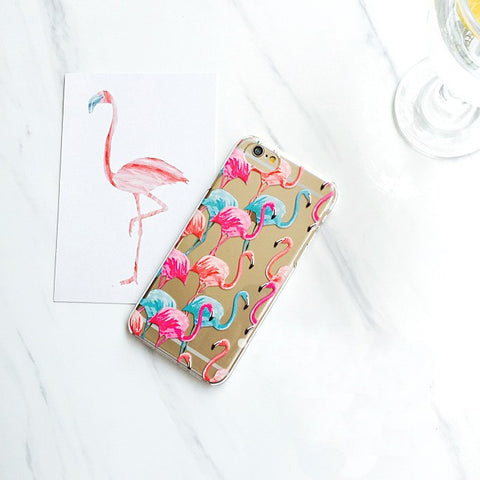 Cute Flamingo Case