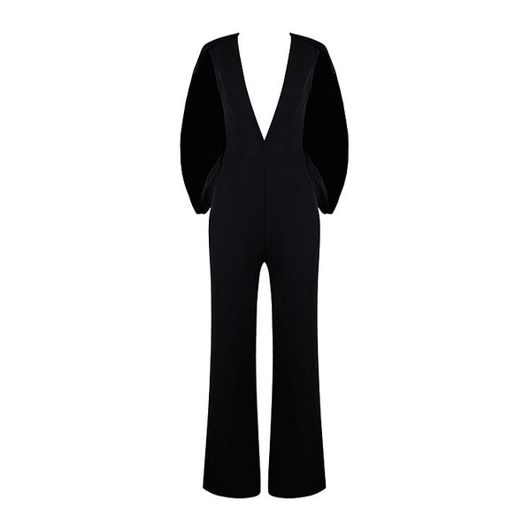 Fly Away Cape Jumpsuit (more colors)