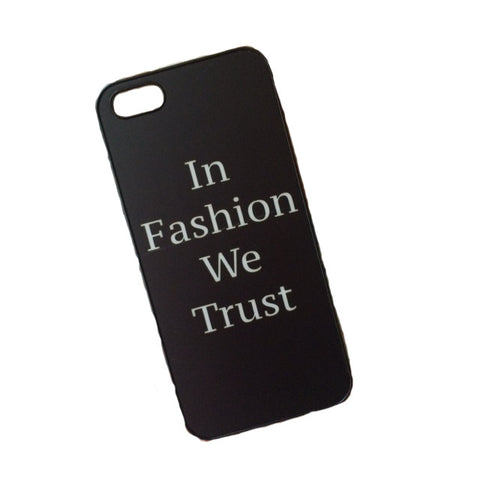 In Fashion We Trust