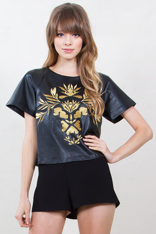 Gold Thrones Top