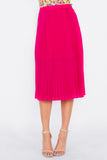 Divide Pleated Skirt