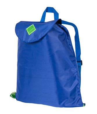 Daytripper - versatile child's drawstring bag - Bright Royal