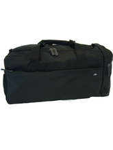 Load image into Gallery viewer, Apollo | Black Gym Bag with Internal Wet Compartment