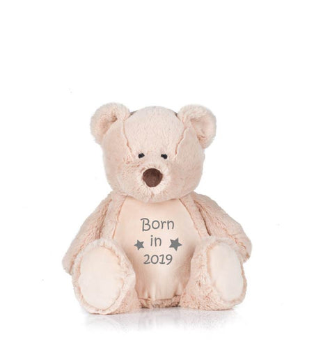 Personalised teddy bear for babies