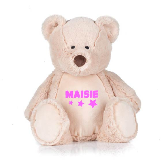 Cute Teddy Bear personalised with name