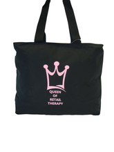 Load image into Gallery viewer, Carry Bag - Queen of Retail Therapy