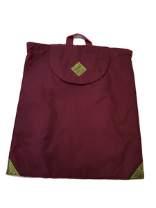 Daytripper - versatile child's drawstring bag - maroon